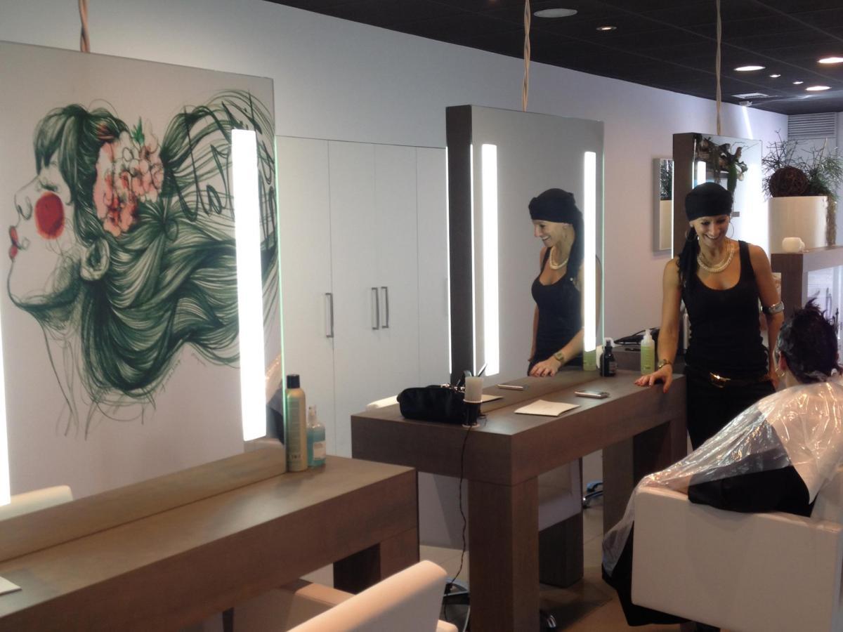 Interior de Tina Prat, saló de bellesa especialitzat en alta imatge personal i tractaments corporals ecològics
